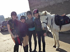 L.E.S Pony Clubbers with Bobby