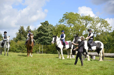 Group lesson at Dukes Cross Country Hire