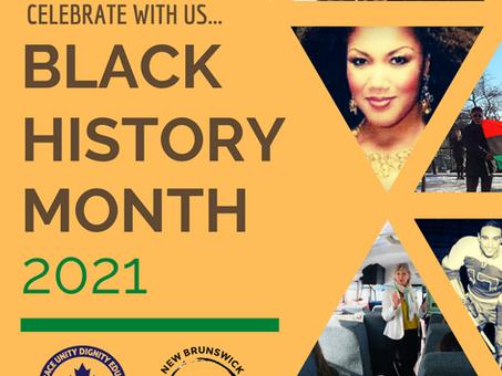 Black History Month 2021 SPEAKER SERIES