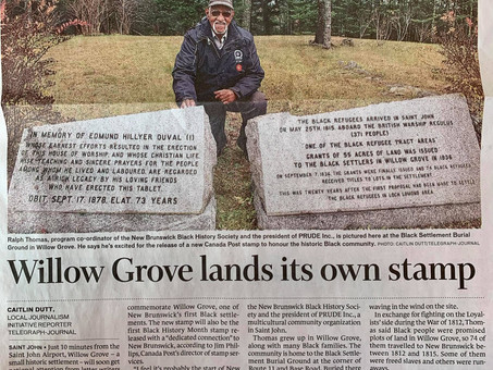 Willow Grove lands its own stamp