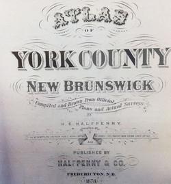 The 1878 York County, NB atlas