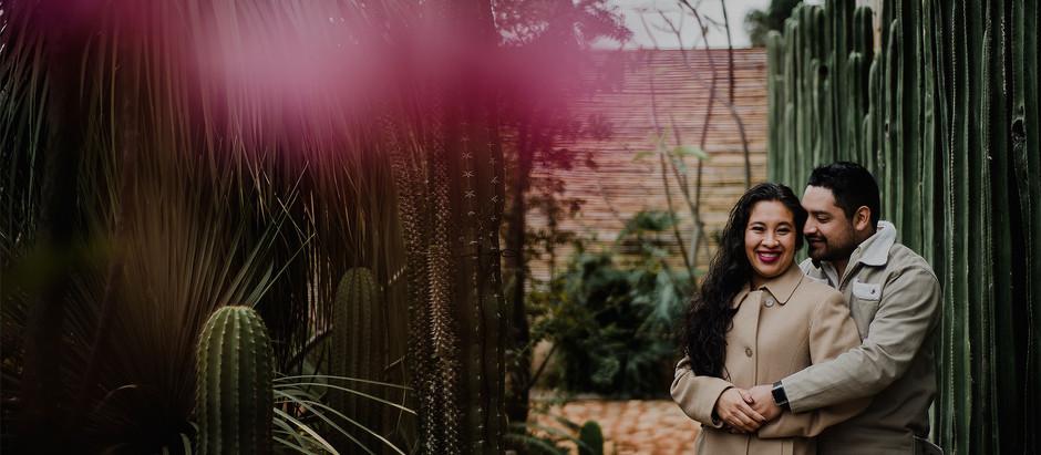 Tania + Víctor || Sesión Casual || Vives Verde Jardín