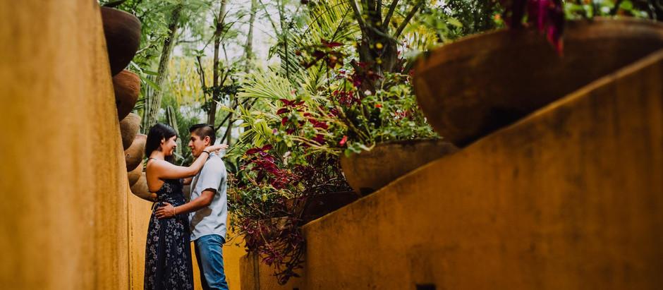Fabe + Juan || Sesión Casual - Jardín la Morada