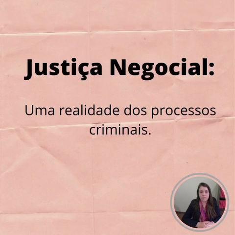 Justiça negocial