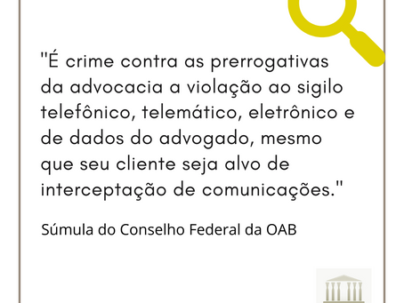 Súmula Conselho Federal da OAB