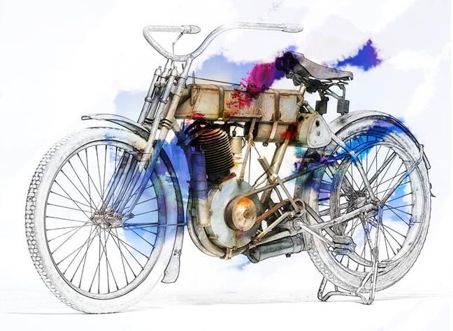 Все начиналось с мотоцикла :)