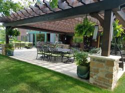 Paver patio with Pergola
