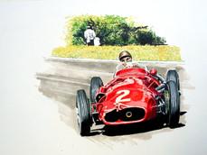 Juan Fangio Maserati