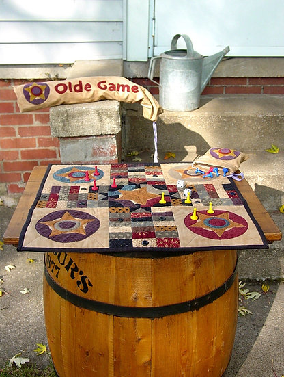 Olde Game - Fabric Kit with Pattern