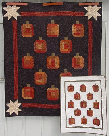 Pumpkin Patch - Quilt Pattern - 2 projects in 1