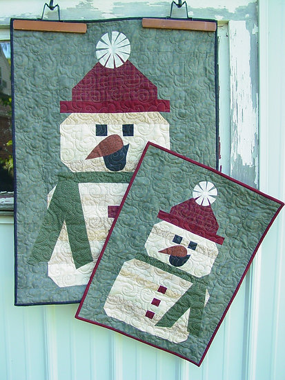 Snow Sisters - Decor Pattern - 2 projects in 1