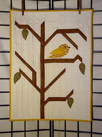 Little Yellow Bird - Decor Pattern