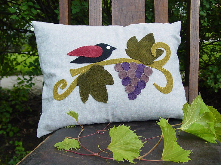 Resting in the Vineyard - Decor Pillow