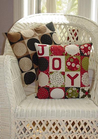 Polka Dot Pillow - Decor Pattern
