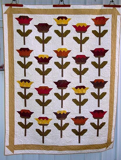 Poppies - Quilt Pattern
