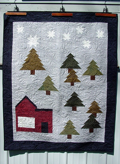 The Tree Farm- Quilt Pattern