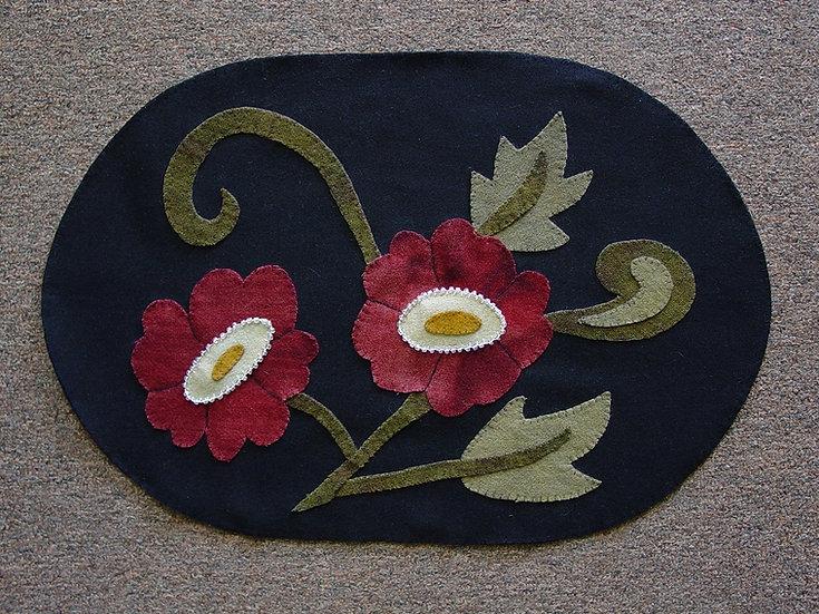 Summer Blooms - Wool Decor Pattern
