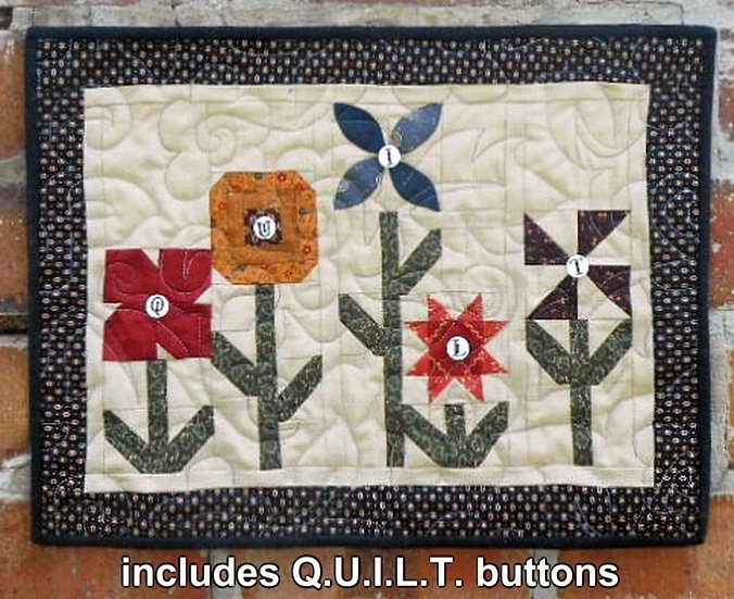 Quilt Garden - Fabric Kit with Pattern
