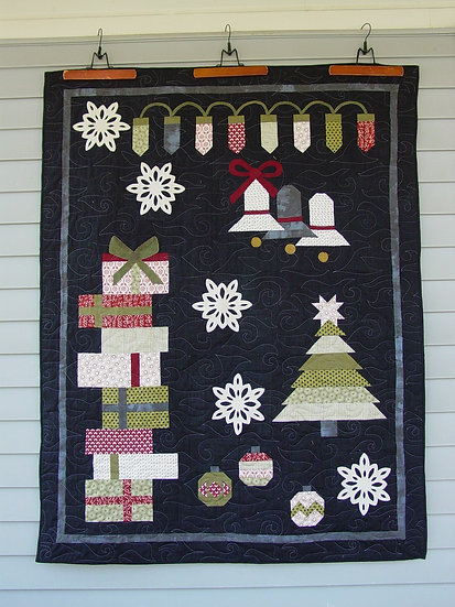 Holiday Sampler - Fabric Kit with Pattern