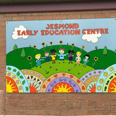 Mural for Jesmond early Childhood Centre