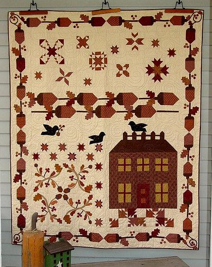 Acorn Manor - Quilt Pattern