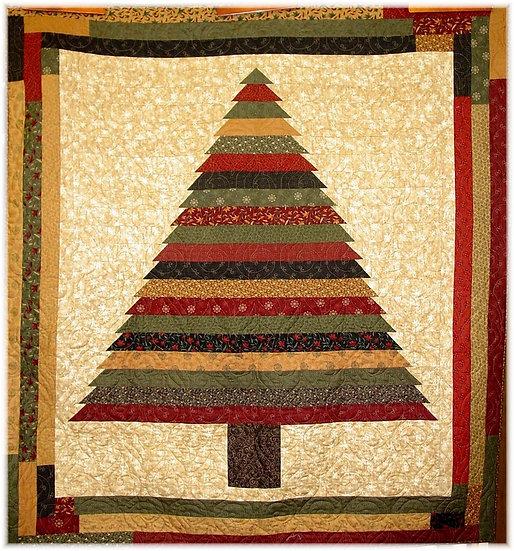 #1 Pine Tree Strip - Quilt Pattern
