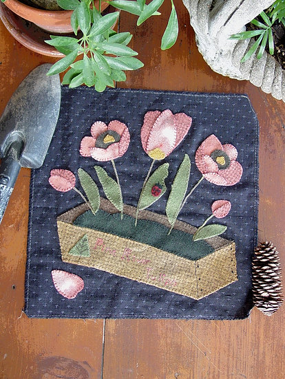 Potted Petals - Tulip Box Kit with Pattern
