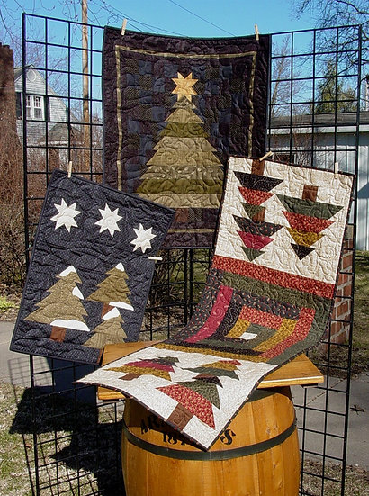 Evergreen - Decor Patterns - 3 projects in 1
