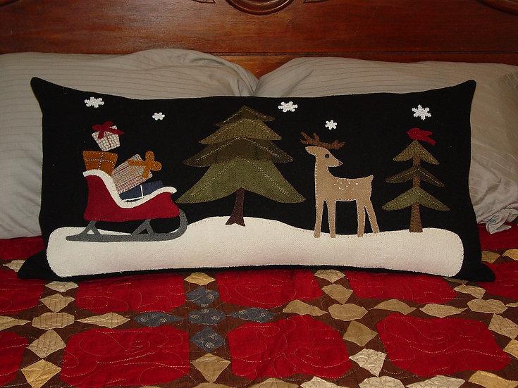 Waiting for Santa - Decor Pillow Pattern