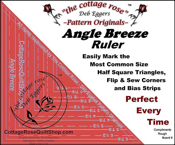Angle Breeze Ruler by Deb Eggers