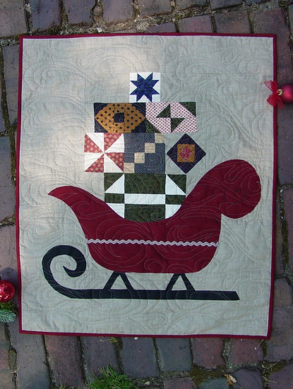 Sleigh - Fabric Kit with Pattern