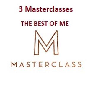 3 Classes pass- Women's Empowerment Masterclasses.