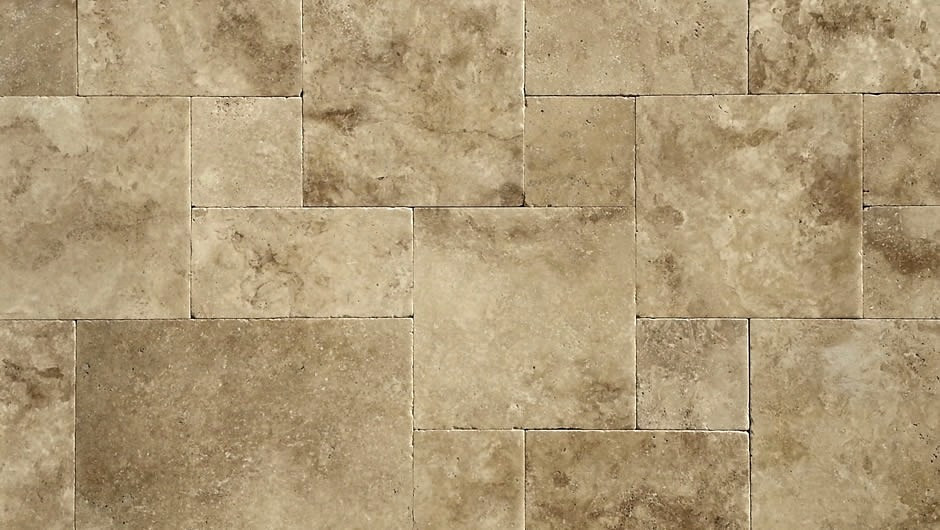 Walnut 1st A Grade Travertine French Pat