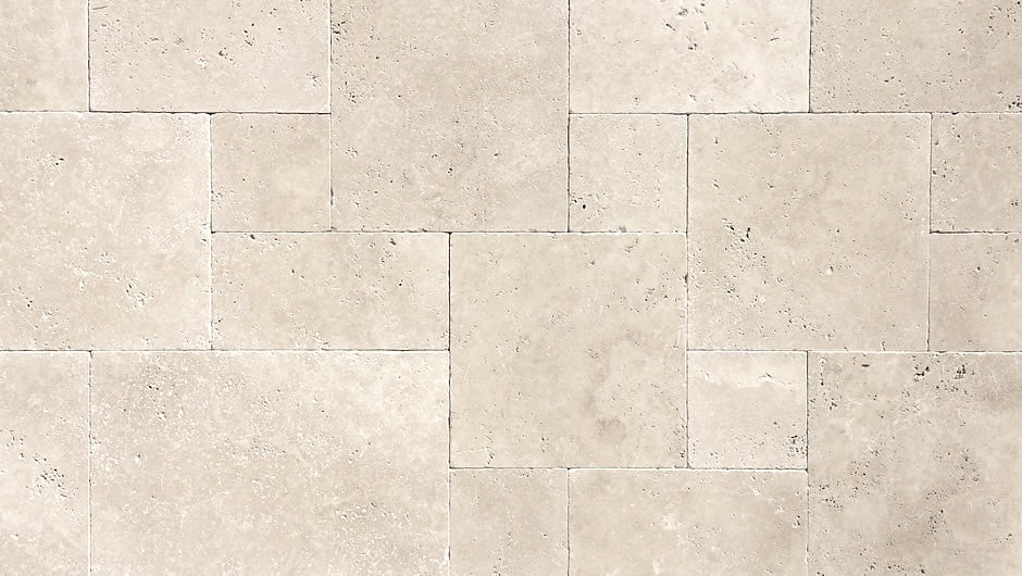 Ivory 1st A Grade Travertine French Pattern