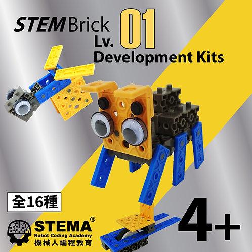 4-6歲兒童小肌肉發展套件 STEMBrick level1