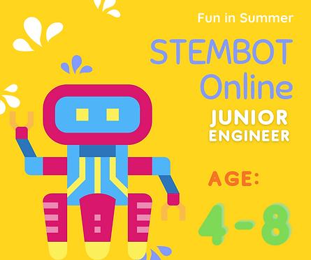STEMBrick lv1-3 線上課程 (適合4-8歲)
