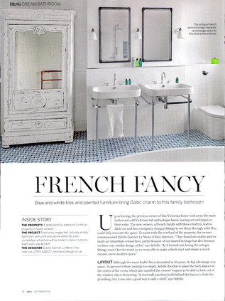 HOMES & GARDENS Dream bathrooms October 2016
