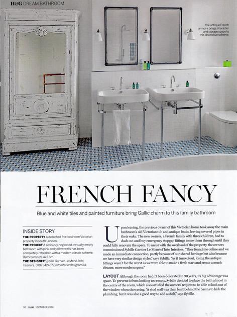 Homes & Gardens Dream bathrooms 2016