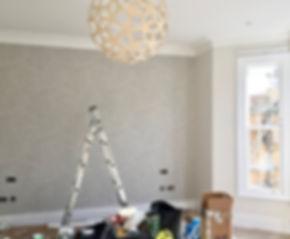Master bedroom renovation house Fulham I