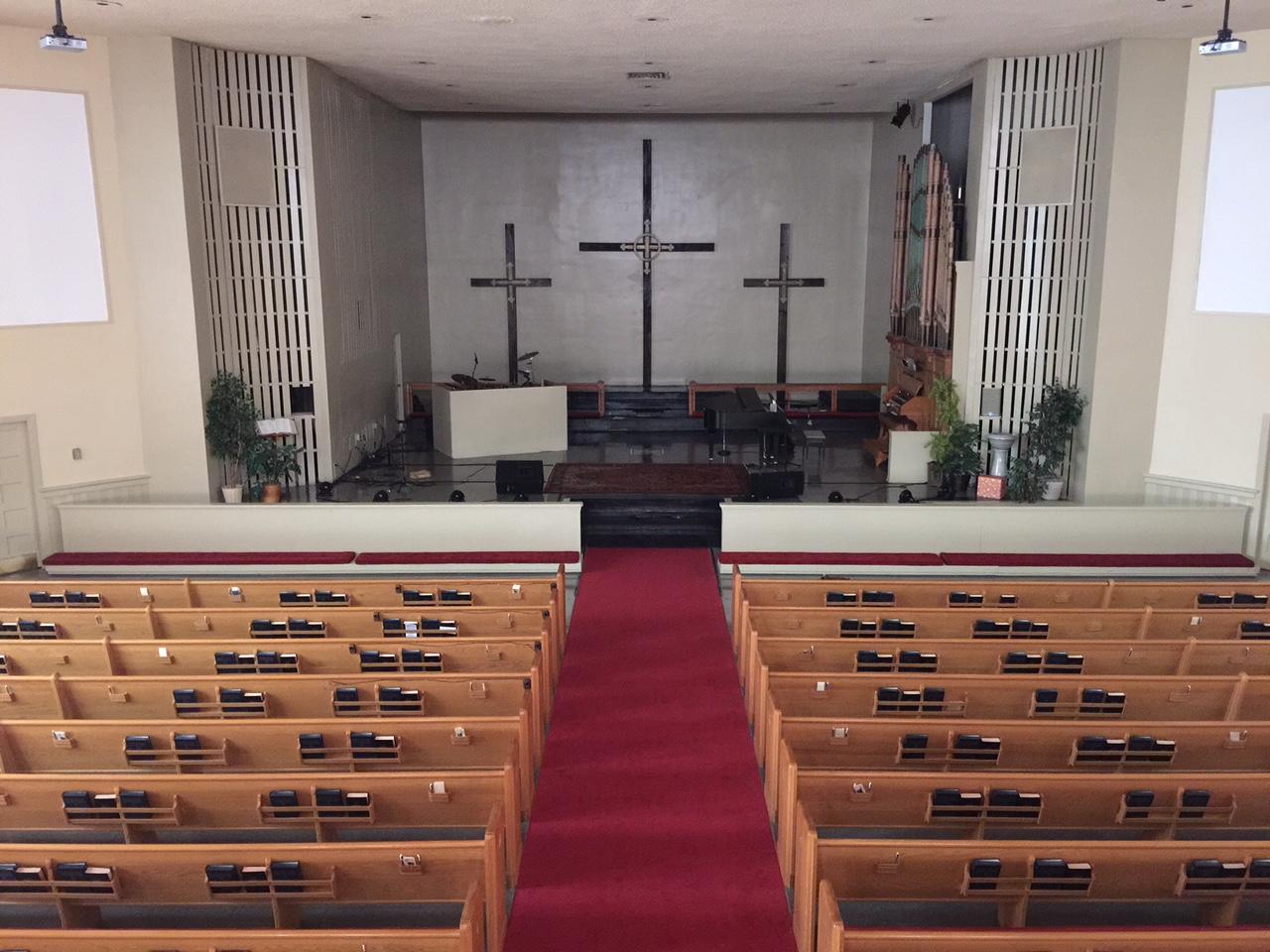 Sanctuary from Balcony