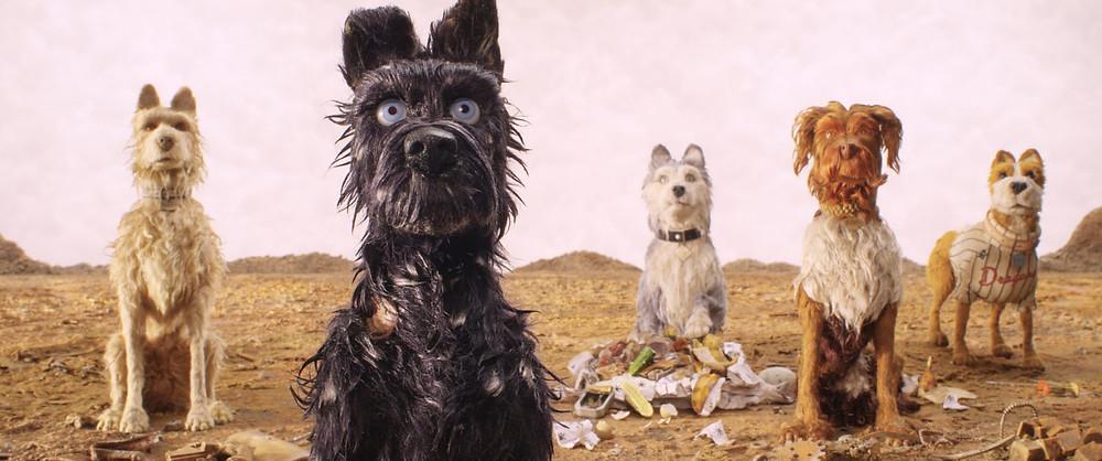 """phim hoạt hình stop-motion bằng đất nặn """"Isle of Dogs"""""""