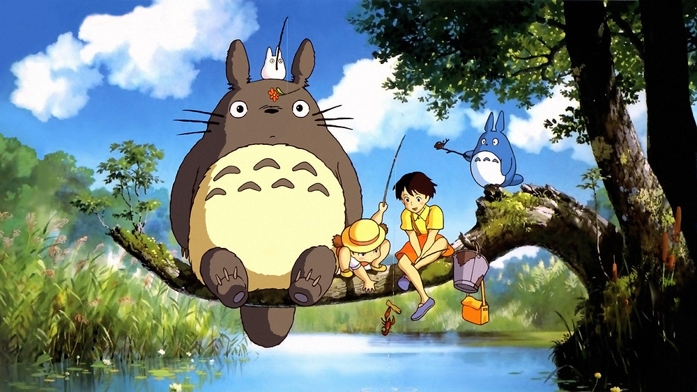 cảnh phim hoạt hình My Neighbor Totoro