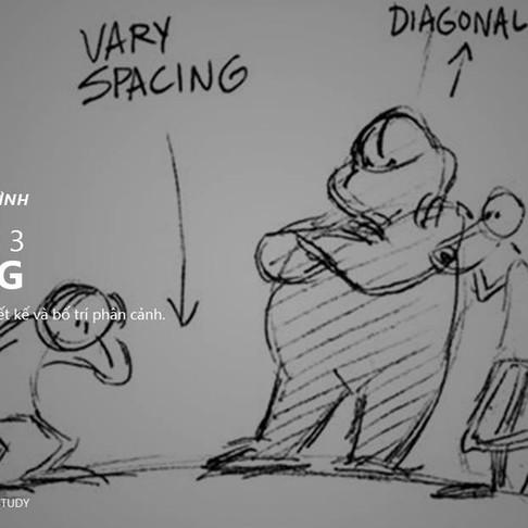 12 Nguyên Tắc Animation - Nguyên Tắc 3: Staging
