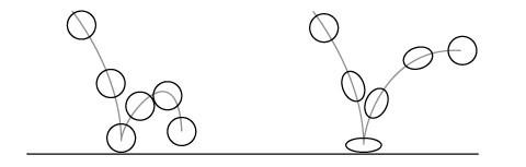 bài tập animation bouncing ball áp dụng nguyên tắc hoạt hình squash and stretch