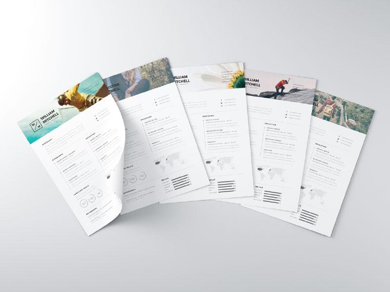 ví dụ về cách trình bày CV