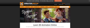 animation mentor là trang web dạy animation cực kỳ bổ ích