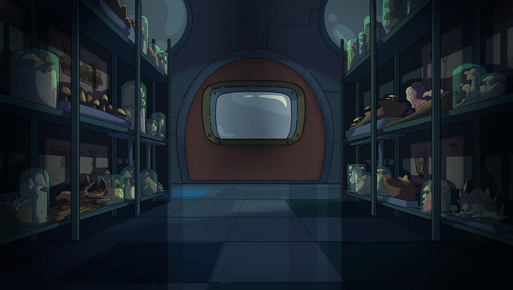 """Thiết kế bối cảnh trong series hoạt hình """"Biệt Đội iOn Bạc"""""""