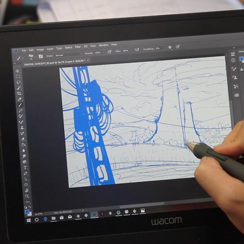 Hướng Dẫn Các Bước Làm Hoạt Hình 2D - Quy Trình Sản Xuất Hoạt Hình 2D