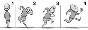 nguyên tắc anticipation trong chuyển động chạy