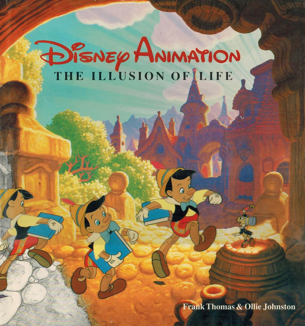 cuốn sách the illusion of life của disney animation giới thiệu 12 nguyên tắc hoạt hình